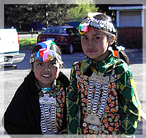 mapuche indian girls